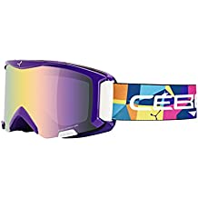 Cébé Goggles Super Bionic Space Junior - Gafas de esquí para niños, color azul