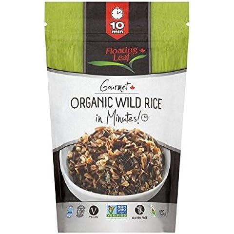 Foglia Che Galleggia Organico Riso Selvatico In Minuti 120G - Confezione da 2 - Foglie Di Curry