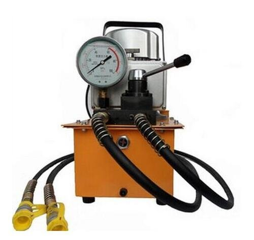 Gowe électrique double action Pompe hydraulique Valve magnétique double électrique Pompe hydraulique pression Capacité 0,6–4L/min