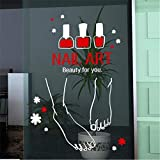 Best Foot Forward Signs - Lbonb High Quality Nail Art Vinly Wall Sticker Review