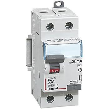 Legrand LEG92841 Interrupteur Différentiel BIP 63 A 30 MA Type AC