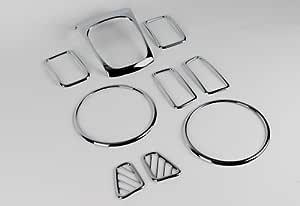 Sorento XM 10-12 Chrom Innenraum Set Interior Molding Set Innenraumset