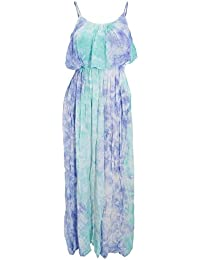 Universal Textiles Womens/Ladies Maxi Pastel Tie Dye Summer Dress