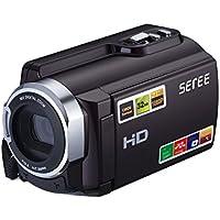 Camera schermo Seree HDV-501 FHD 1080P videocamere Wi-Fi Connection 60FPS Dual SD Slot di visione notturna batteria esterna 20MP 16X Zoom digitale 3 pollici touch