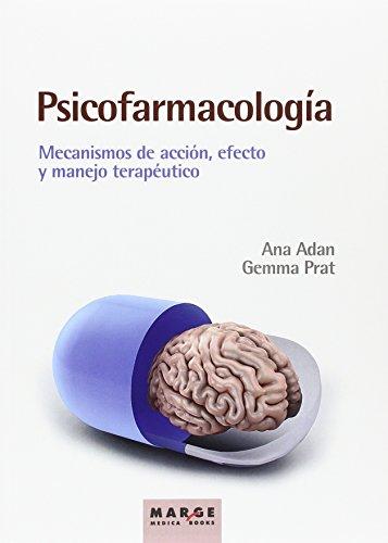 Psicofarmacología (edición 2016) (Marge Medica Books) por Ana Adan / Gemma Prat