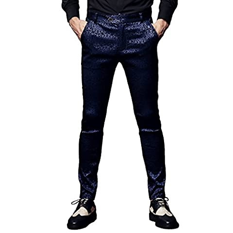 FANZHUAN Luxe Pantalon Droit Du Slim Vetement Mode Men Pants Dress