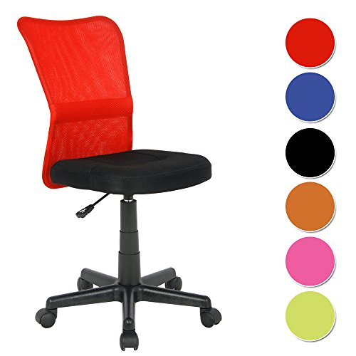 Lovely H 298F/1411 Office Chair Red / Black
