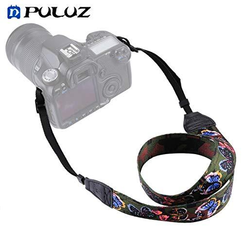 PULUZ Vintage stile etnico floreale stampato Anti Slip Camera Collo spalla tracolla cinghia per fotocamere SLR/DSLR JBP X