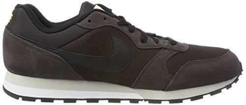 Nike Runner 2 Scarpe Da Corsa, Grigio / Blu, 44 Eu Marrone (velluto Marrone / Nero / Vivido Sulfu 202)
