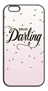 Happoz Hello Darling Mobile Phone Back Panel Printed Fancy Pouches Accessories Z1409