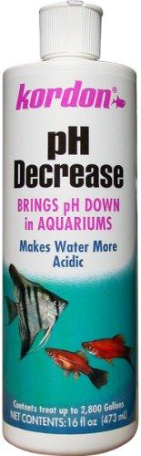 KORDON #35326 pH Decrease Adjuster for Aquarium, 16-Ounce by Kordon