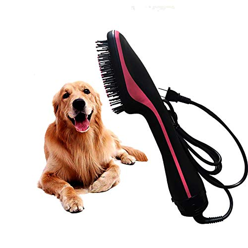 ZNN Dry Hair Comb for Pets: Electric Hot Air Comb