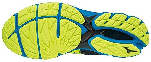Mizuno Herren Wave Rider 22 Sneakers, Mehrfarbig (O Syellow/Blue 001), 44 EU