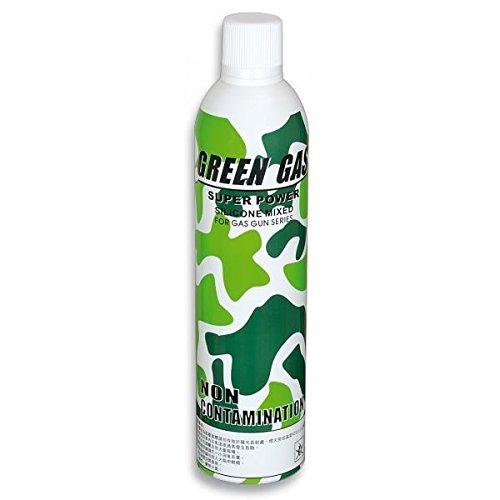 Martinez 35044. Botella Green Gas 1100 ml para pistolas de airsoft que funcionan por gas