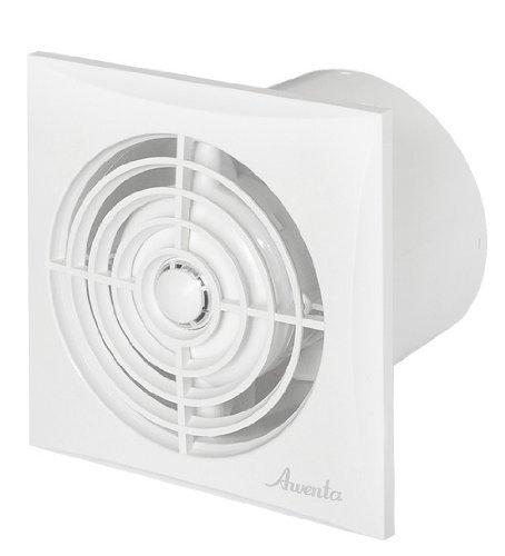 Très puissant et silencieux de salle de bain Extracteur d'air 100mm/10,2cm avec minuteur détecteur d'humidité à roulement à billes Silencieux basse consommation Ventilator Wz100h