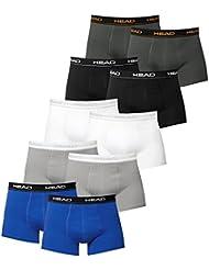HEAD Boxers para Hombres Calzoncillos para Hombre Pack de 10 en varios colores