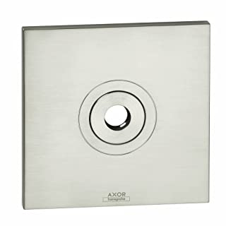 Hansgrohe 27419820 Axor Citterio Wall Plate, Brushed Nickel