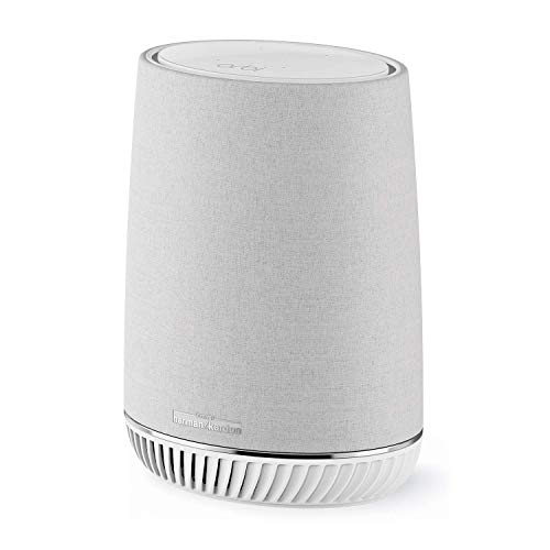 Netgear Orbi Wifi Mesh AC3000 RBS40V, repetidor WiFi adicional con altavoz Alexa...