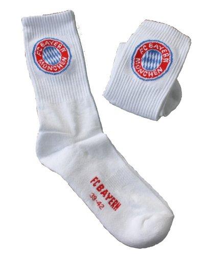 inder-Sportsocken, 2er Set weiß (27-30) (Weiß Fußball Socken Für Kinder)