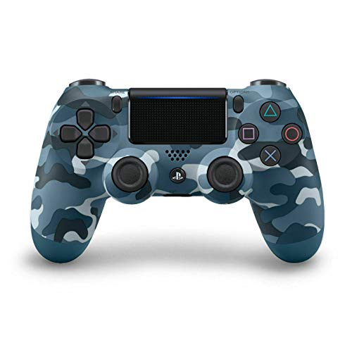 Blue Camo Rapid Fire Custom Modded Controller 40 Mods für alle großen Shooter Spiele, Custom LED (CUH-ZCT2U) (Advanced 2 Playstation Warfare)