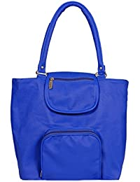 Borse Women/Ladies & Girls formal Shoulder Bag (Blue) - Women's Everyday Casual & Stylish/Fashionable Hand bags - Gift for Friend/Girlfriend & Wife