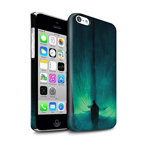 Offiziell Chris Cold Hülle / Glanz Snap-On Case für Apple iPhone 5C / Pack 10pcs Muster / Dunkle Kunst Dämon Kollektion Bösen Herzens