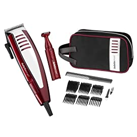 deluxe hair clipper - 41RCCWZaVzL - BaByliss For Men Clipper Gift Set