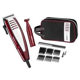 deluxe hair clipper - 41RCCWZaVzL - BaByliss For Men Clipper Gift Set