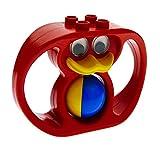 1 x Lego Duplo Primo Tier Rassel rot Baby Ente Klapper Ball blau gelb x1188cx1