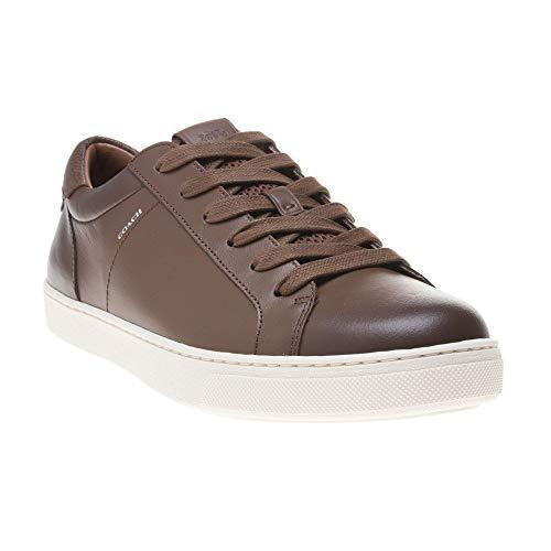 Coach Leather C121 Herren Sneaker Beige