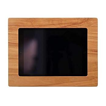 NobleFrames Tablet Wandhalterung für iPad Air1/2, iPad 5, iPad 6 und iPad Pro 9,7″ aus Kernbuche