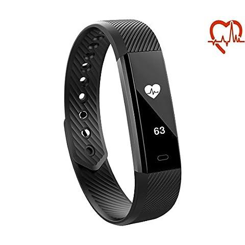TOKSUM® ALFA HR® Slim Heart Rate Monitor Fitness Tracker Smart