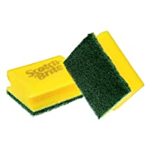Scotch-Brite 2048140 Yeşil Klasik Bulaşık Süngeri 8'li Tırnak Koruyuculu