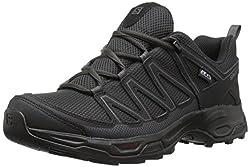 Salomon Mens Pathfinder CSWP M Walking Shoe, Phantom/Black/Magnet, 8.5 Medium US