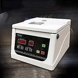 QWERTOUY Centrifugeuse médicale Benchtop centrifugeuse Basse Vitesse PRP électrique centrifuge 4000 Tour Sérum séparation équipement de Laboratoire,12x5ml/7ml