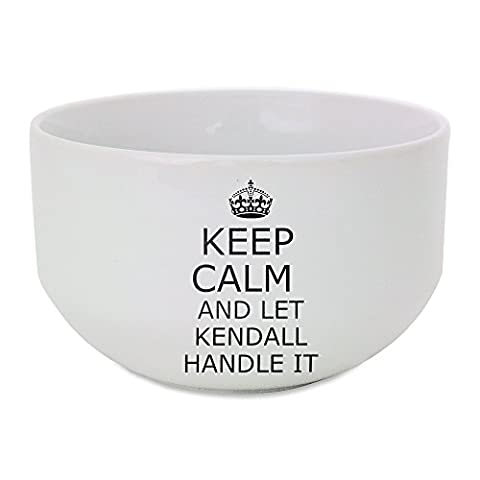 Ceramic bowl with Handle it KENDALL Keep calm