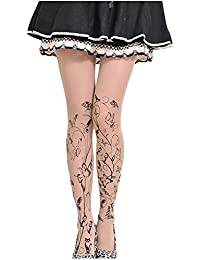 Doitsa 1PCS bas de tatouage de collant Collants d été femme Collants  maigres Collants légers 8ff6012de06