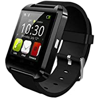 U8 Bluetooth Smart Wrist Watch - Black