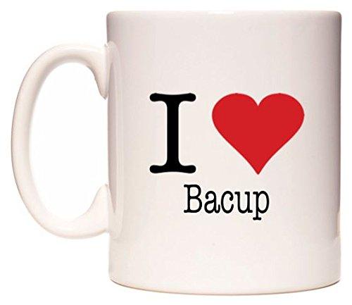 I Love Bacup Taza por WeDoMugs segunda mano  Se entrega en toda España