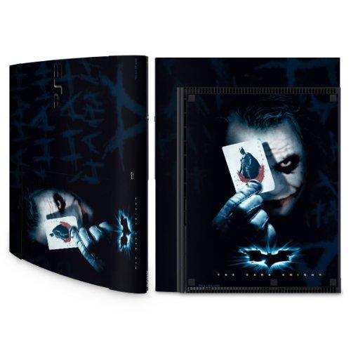 YOUNiiK Styling Skin Designfolie für Sony Playstation 3 Super Slim bzw. PS3 super slim - Batman - The Joker