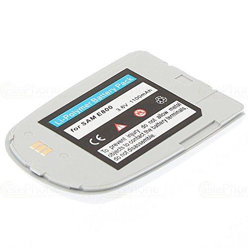 cellePhone PolarCell Akku Li-Polymer für Samsung SGH-E800 / E820 - silber ( ersetzt BSTE800E / BST2927SE / BST2927VE )