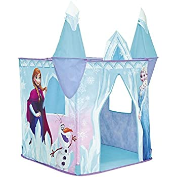Disney Frozen 167FZN01E Castle Playhouse - Pop Up Role Play Tent  sc 1 st  Amazon UK & Charles Bentley Kids My Little House Play Tent Girls Pink ...
