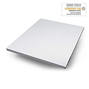 Genius Eazzzy Topper (180 x 200 x 7 cm) als Matratzenauflage für Matratzen & Boxspringbetten Viskoelastischer Matratzentopper für Allergiker (weitere Größen erhältlich)