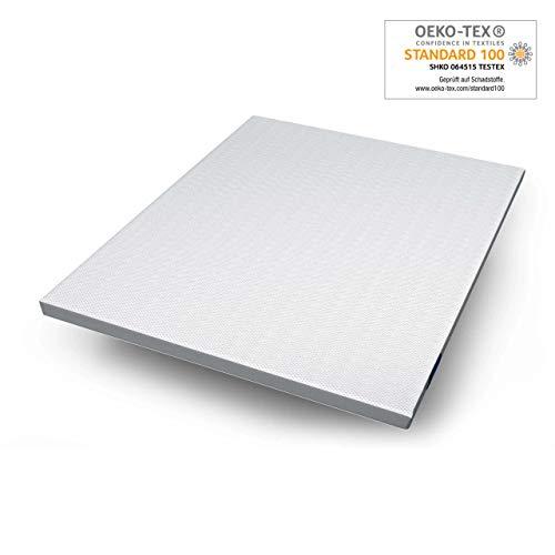 Genius Eazzzy Topper als Matratzenauflage für Matratzen & Boxspringbetten | Viskoelastischer Matratzentopper geeignet für Allergiker | Größe 180 x 200 x 7 cm (weitere Größen erhältlich)