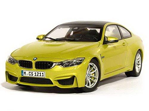 BMW Original Miniatura coche 1: 18Escala Fundido Modelo M4(F82) Austin amarillo