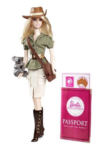 Barbie - Muñecas del mundo: Australia (Mattel W3321)