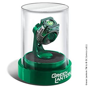 Green Lantern Prop Ring & Display
