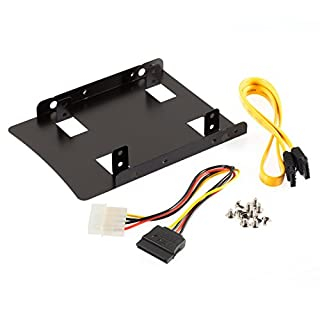 Poppstar installation kit for internal 2.5 inch SSD/HDD (installation frame, cable set, screw set) (Set 1)