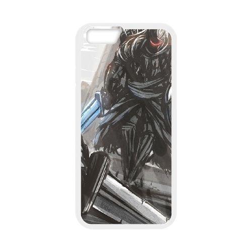 Dark Souls coque iPhone 6 Plus 5.5 Inch Housse Blanc téléphone portable couverture de cas coque EBDXJKNBO15712