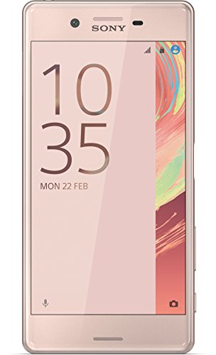 sony xperia x smartphone 4g (12.7 cm (5), 32 gb, 23 mp, android, 6.0, rosa)